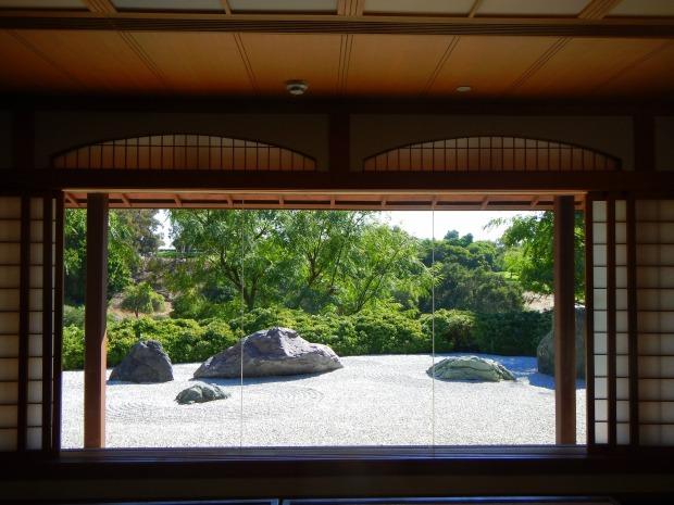 Inside Pavilion at Japanese Friendship Garden, Balboa Park, San Diego, California