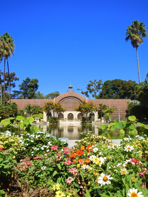 Reflecting Pool at Balboa Park, San Diego, California