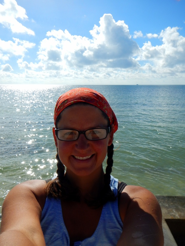 Me at Higgs Beach, Key West, Florida