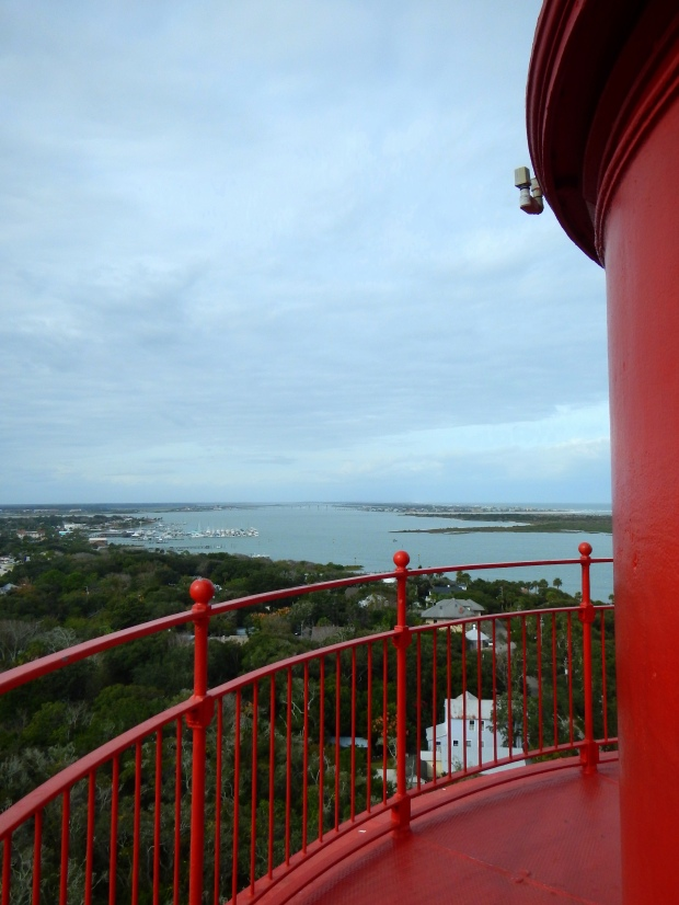 A view from the top, St. Augustine Lighthouse, Florida