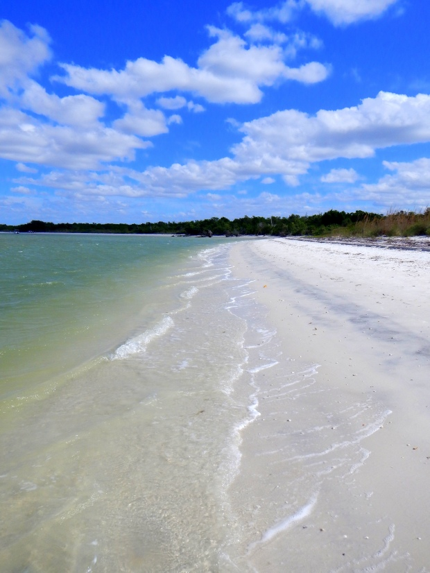 Beach at Lovers Key State Park, Florida