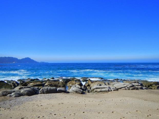 Unknown beach near Point Lobos State Park, Central Coast, California