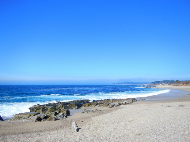 Unknown beach near Point Lobos State Park, Central Coast, California