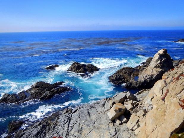 Rocky shore near Big Sur, California