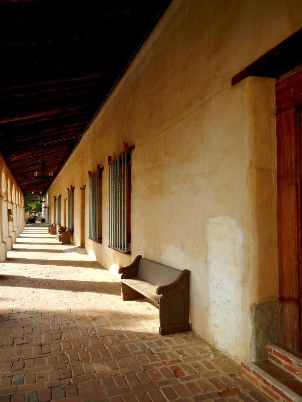 Original arcade, Mission San Miguel Archangel, California