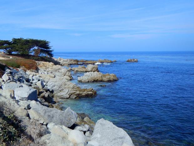 Coastline, Monterey Bay, California