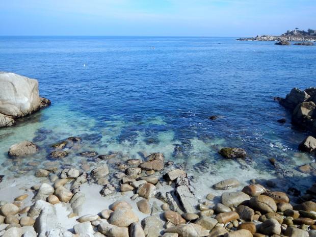 Rocky coastline, Monterey Bay, California