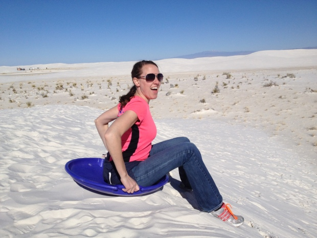 Chrissy, White Sands National Monument, New Mexico