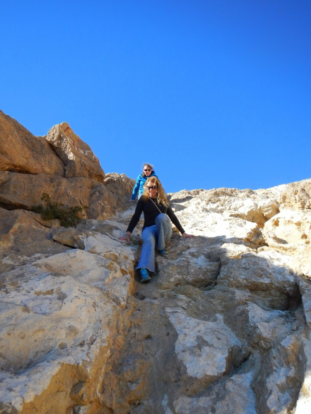 Descending the Ron Coleman Trail, McKelligon Canyon, El Paso, Texas