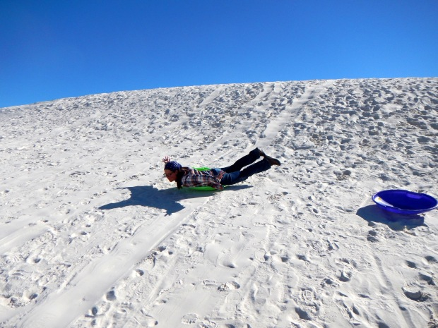 Me also not going anywhere fast, White Sands National Monument, New Mexico