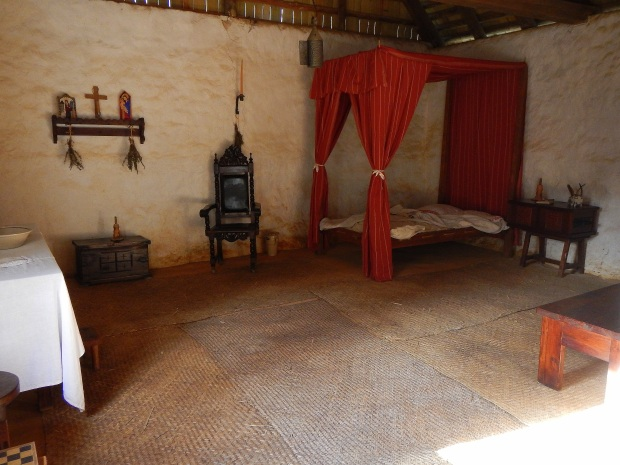 The opulent house of the Deputy Governor Jacinto Roque Perez and his wife Juana Caterina de Florencia, Mission San Luis de Apalachee, Tallahassee, Florida