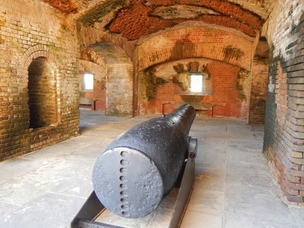 Cannon at Fort Zachary Taylor State Park, Key West, Florida