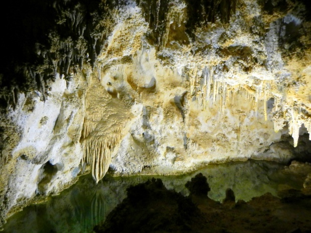 Green Lake drip pool, Carlsbad Caverns National Park, New Mexico