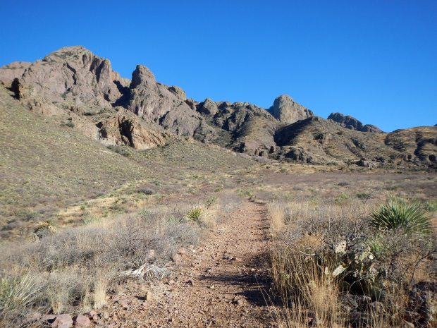 Crawford Trail, Dripping Springs Natural Area, Las Cruces, New Mexico