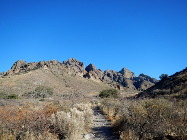 Fillmore Trail, Dripping Springs Natural Area, Las Cruces, New Mexico