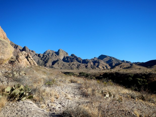 La Cueva Trail, Dripping Springs Natural Area, Las Cruces, New Mexico