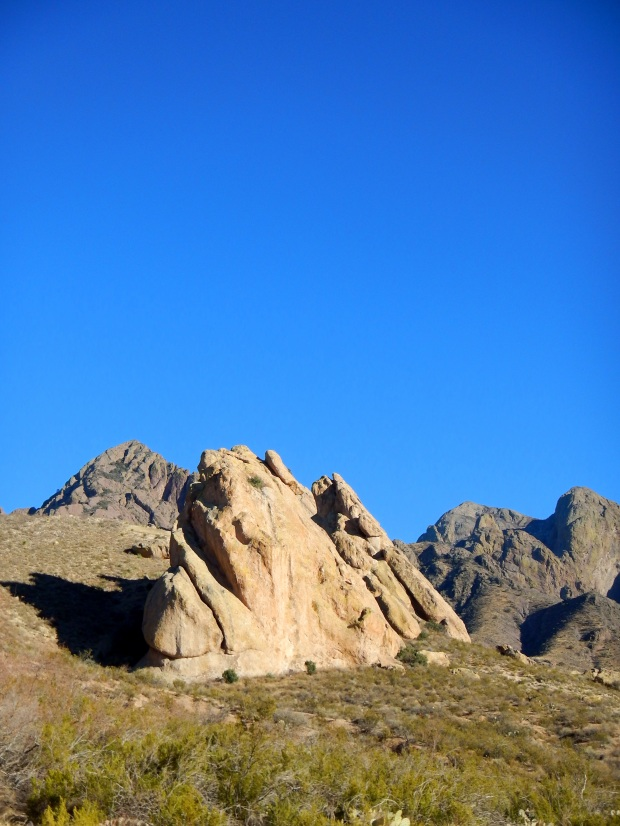 Rocks along La Cueva Trail, Dripping Springs Natural Area, Las Cruces, New Mexico
