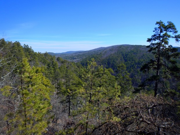 View from Goat Rock, Goat Rock Trail, Hot Springs National Park, Arkansas