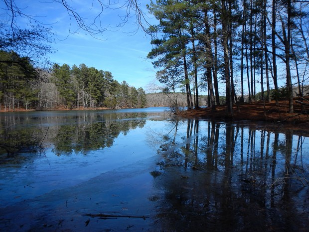 Pin Oak Lake, Natchez Trace State Park, Tennessee