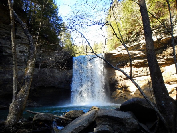 Lower Greeter Falls, South Cumberland State Park, Tennessee