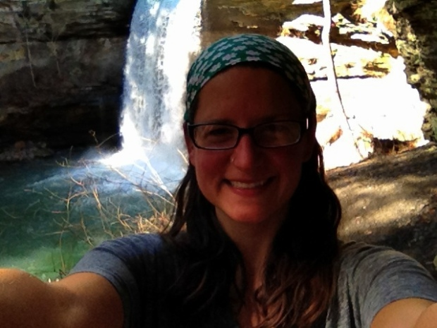 Me at Lower Greeter Falls, South Cumberland State Park, Tennessee