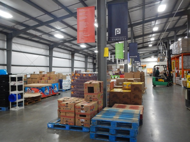 Warehouse at the Chattanooga Area Food Bank, Chattanooga, Tennessee
