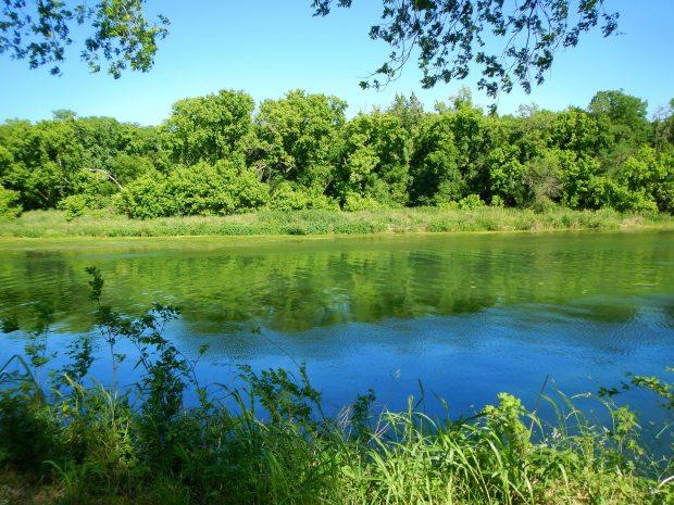 The Colorado River at Carson Creek Ranch, Austin Psych Fest, Austin, Texas