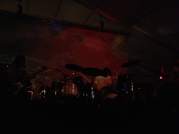 Earthless blowing my mind in the Levitation Tent, Austin Psych Fest, Austin, Texas