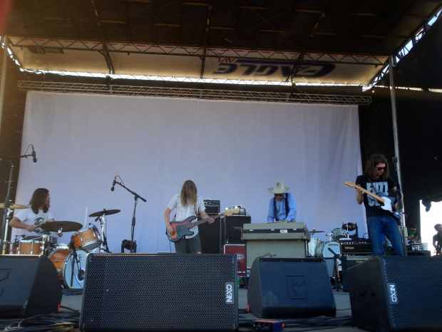 As close as possible to Christian Bland and The Revelators, Austin Psych Fest, Austin, Texas