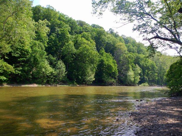 Sugar Creek, Trail 4, Shades State Park, Indiana