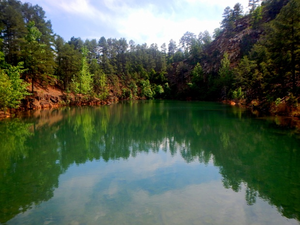 East Quarry Lake, Pinnacle Mountain State Park, Arkansas
