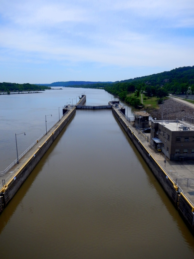 Murray Locks and Dam on the Arkansas River, Big Dam Bridge, Little Rock, Arkansas