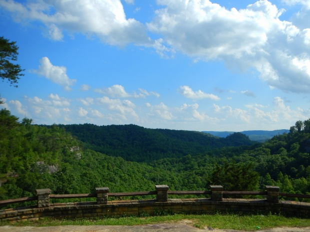 Lookout over the gorge, Big South Fork National Recreation Area, Kentucky