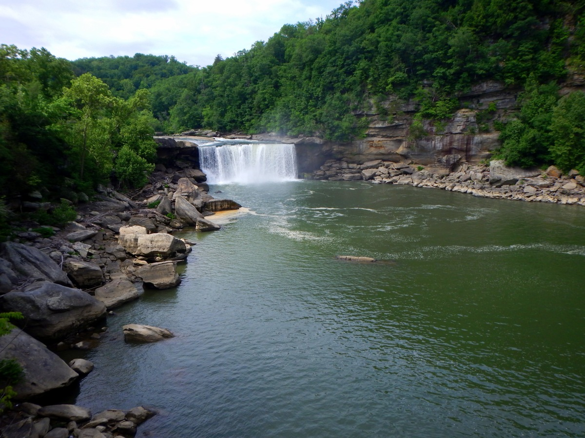 Cumberland Falls State Park, Part 1: Cumberland Falls Trail. Or, The Waterfall with a Thousand Viewpoints