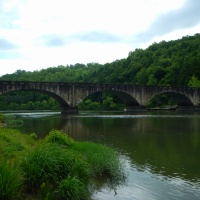 Cumberland Falls State Park, Part 3: Gatliff Bridge and an Afternoon Swim