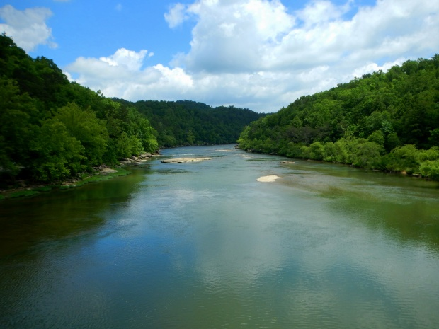 View from the Gatliff Bridge, Cumberland Falls State Park, Kentucky