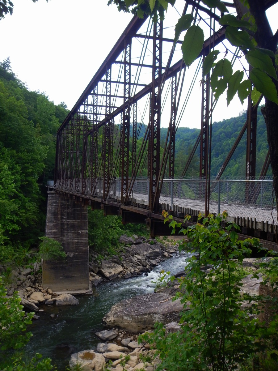 O&W Rail Bridge Hike and Some River Views in the Big South Fork Recreation Area, Tennessee