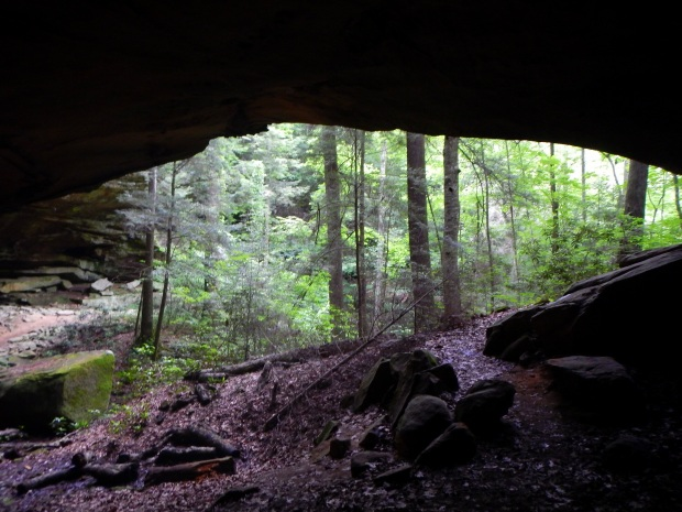 Under Yahoo Arch, Big South Fork Recreation Area, Kentucky