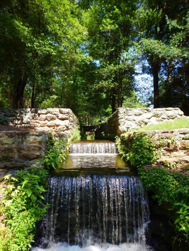 Pre-revolutionary grist mill ruins, Poinsett State Park, South Carolina