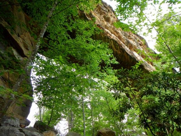 Approach to Natural Bridge, Natural Bridge State Park, Kentucky
