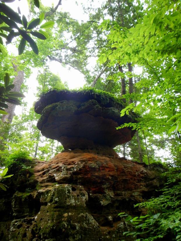 Balanced Rock, Natural Bridge State Park, Kentucky