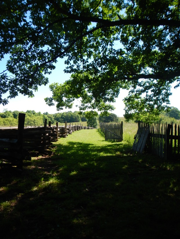 Shillalah Creek entrance to Hensley Settlement, Cumberland Gap National Historical Park, Kentucky