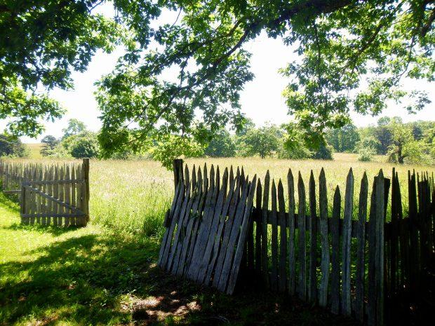 Gate into Willie Gibbons Homestead, Hensley Settlement, Cumberland Gap National Historical Park, Kentucky