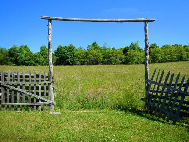 Gate into pasture, Hensley Settlement, Cumberland Gap National Historical Park, Kentucky