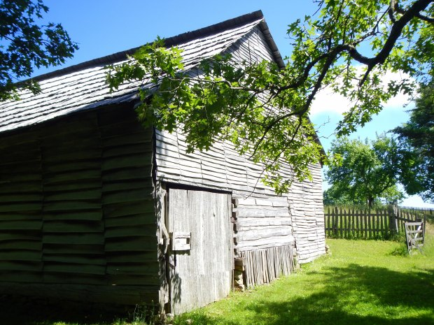 Exterior of Willie Gibbon's barn, Hensley Settlement, Cumberland Gap National Historical Park, Kentucky