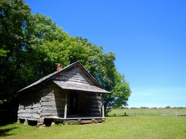 Brush Mountain Schoolhouse, Hensley Settlement, Cumberland Gap National Historical Park, Kentucky