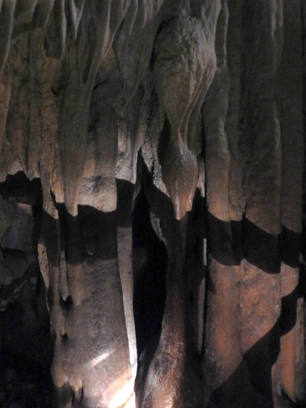 Draperies, Gap Cave, Cumberland Gap National Historical Park, Virginia