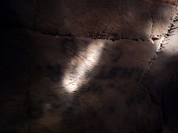 Civil War graffiti, Gap Cave, Cumberland Gap National Historical Park, Virginia