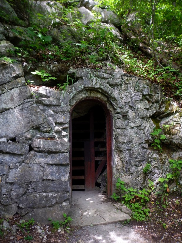 Cave exit, Gap Cave, Cumberland Gap National Historical Park, Virginia