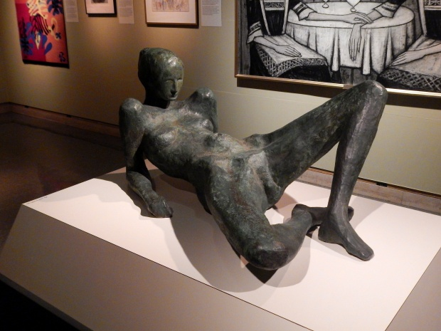 Reclining Woman (David Wynne, 1963), McClung Museum, Knoxville, Tennessee